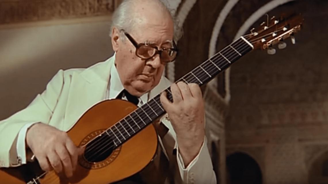 Andrés Segovia da autodidatta a maestro
